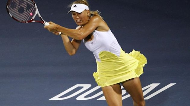 Caroline Wozniacki of Denmark