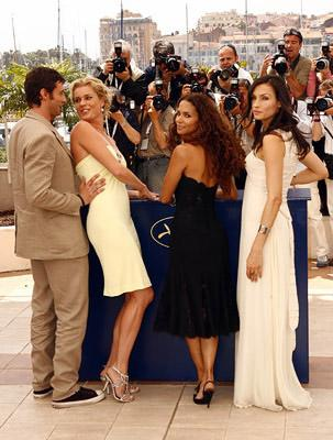 "Hugh Jackman, Rebecca Romijn, Halle Berry and Famke Janssen ""X-Men: The Last Stand"" Photocall - 5/22/2006 2006 Cannes Film Festival"