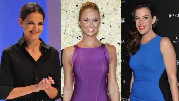 Katie Holmes, Stacy Keibler, Liv Tyler -- Getty Images