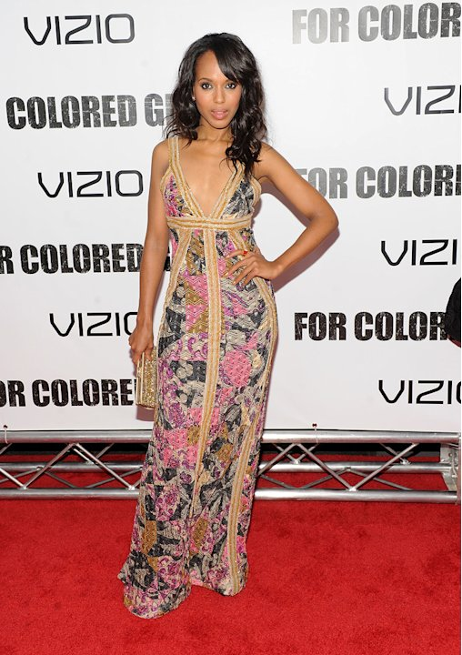 For Colored Girls 2010 NY Premiere Kerry Washington