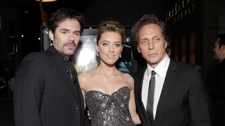 Drive Angry 3D LA premiere Billy Burke Amber Heard William Fichtner
