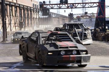 A scene from Universal Pictures' Death Race
