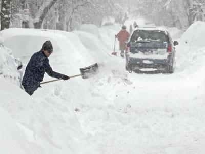 New England Begins to Dig-Out After Epic Snow