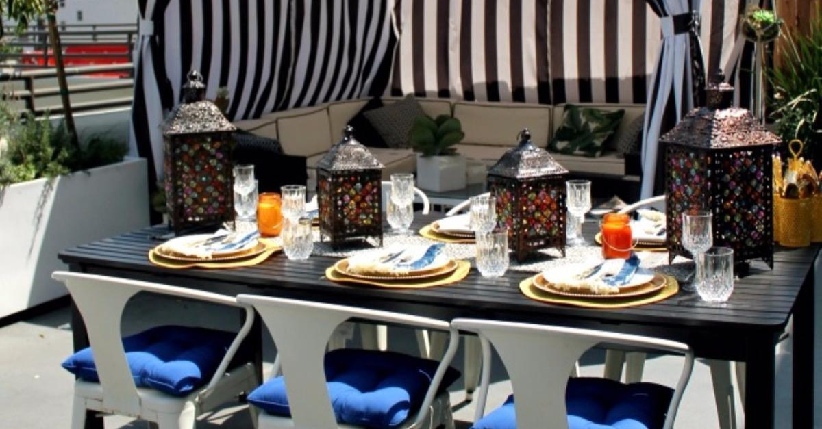 Backyard Refresh With Pier 1 Imports