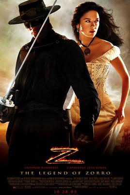 Antonio Banderas and Catherine Zeta-Jones star in Columbia Pictures' The Legend of Zorro