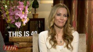 Leslie Mann on the Perks (and Drawbacks) of Acting Opposite Her Daughters in 'This Is 40' (Video)