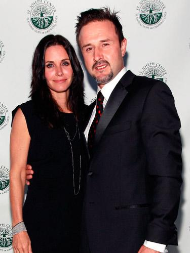 Courteney Cox & David Arquette