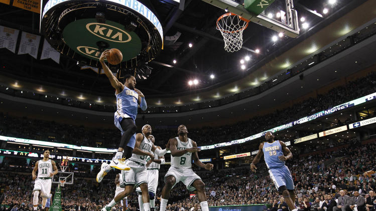 NBA: Denver Nuggets at Boston Celtics