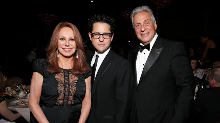 Actress Marlo Thomas, producer J.J. Abrams, Academy of Motion Picture Arts and Sciences President Hawk Koch attend the 24th Annual Producers Guild (PGA) Awards at the Beverly Hilton Hotel on Saturday Jan. 26, 2013, in Beverly Hills, Calif. (Photo by Todd Williamson/Invision for Producers Guild/AP Images)