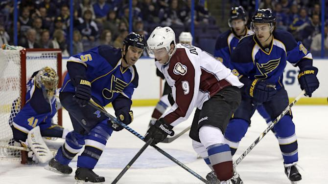 Duchene out at least a week with oblique injury