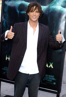 Jared Padalecki at the Westwood premiere of Warner Bros. Pictures' House of Wax