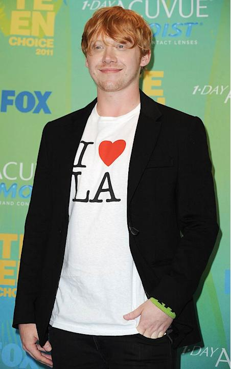 Rupert Grint Teen Choice Awards