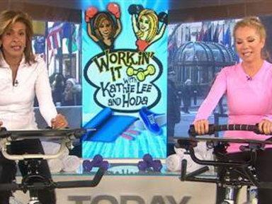 KLG and Hoda Give up Wine, Hit the Elliptical