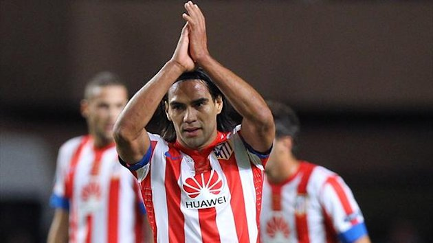 FOOTBALL 2012 Atletico Madrid Falcao