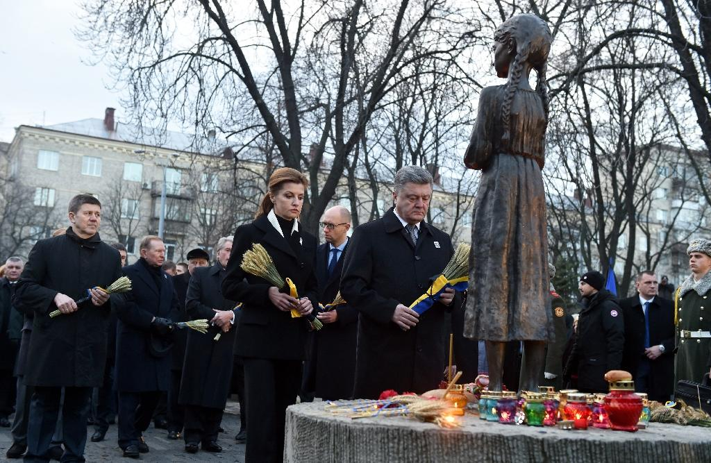 Ukraine remembers victims of Stalin-era famine