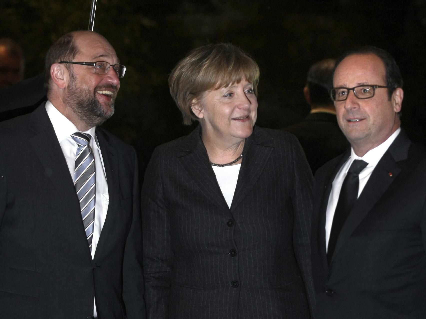 Merkel rules out debt reduction for Greece