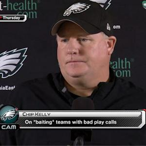 Chip Kelly's sarcastic rant