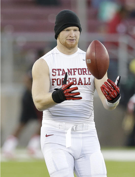 Stanford's Trent Murphy traces toughness to family