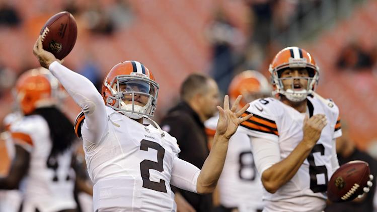 Pittsburgh Steelers preparing as if Johnny Manziel will play Su…