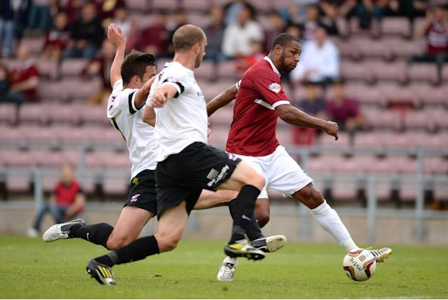 Soccer - Sky Bet Football League Two - Northampton Town v Scunthorpe United - Sixfields Stadium