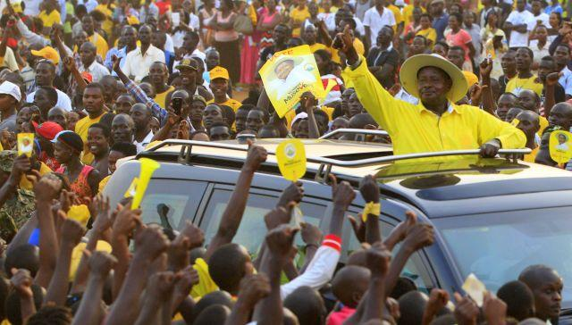 Museveni's 'babies' want change in Uganda this election, so they're running for office