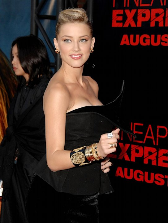 Pineapple Express Premiere LA 2008 Amber Heard