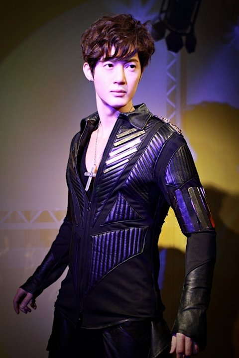 Kim Hyun Joong's wax figure to be on display