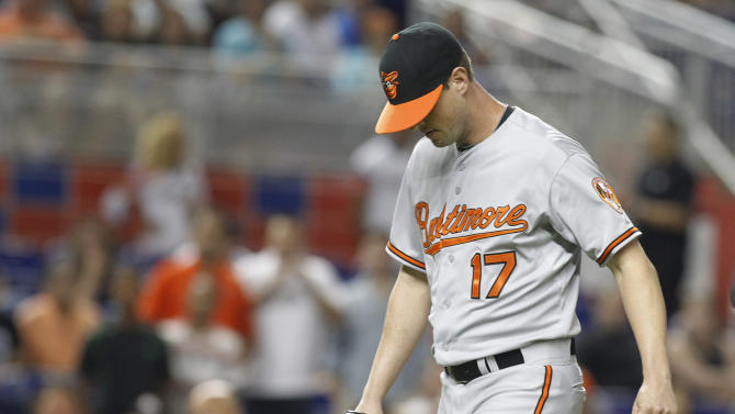 Orioles pitcher Brian Matusz suspended 8 games, appeals