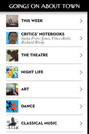 'The New Yorker' Arrives on the iPhone With Free Issue