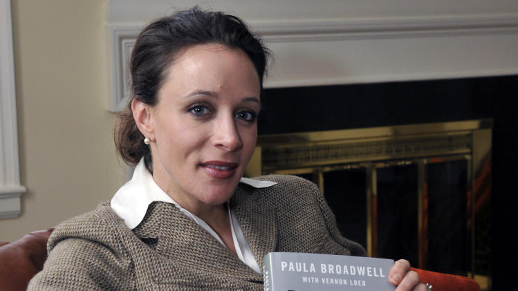 In this Jan. 15, 2012 photo, Paula Broadwell, author of the David Petraeus biography