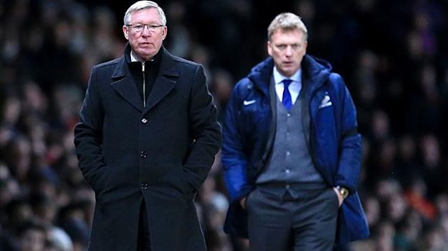 Sir Alex Ferguson and David Moyes (PA Sport)