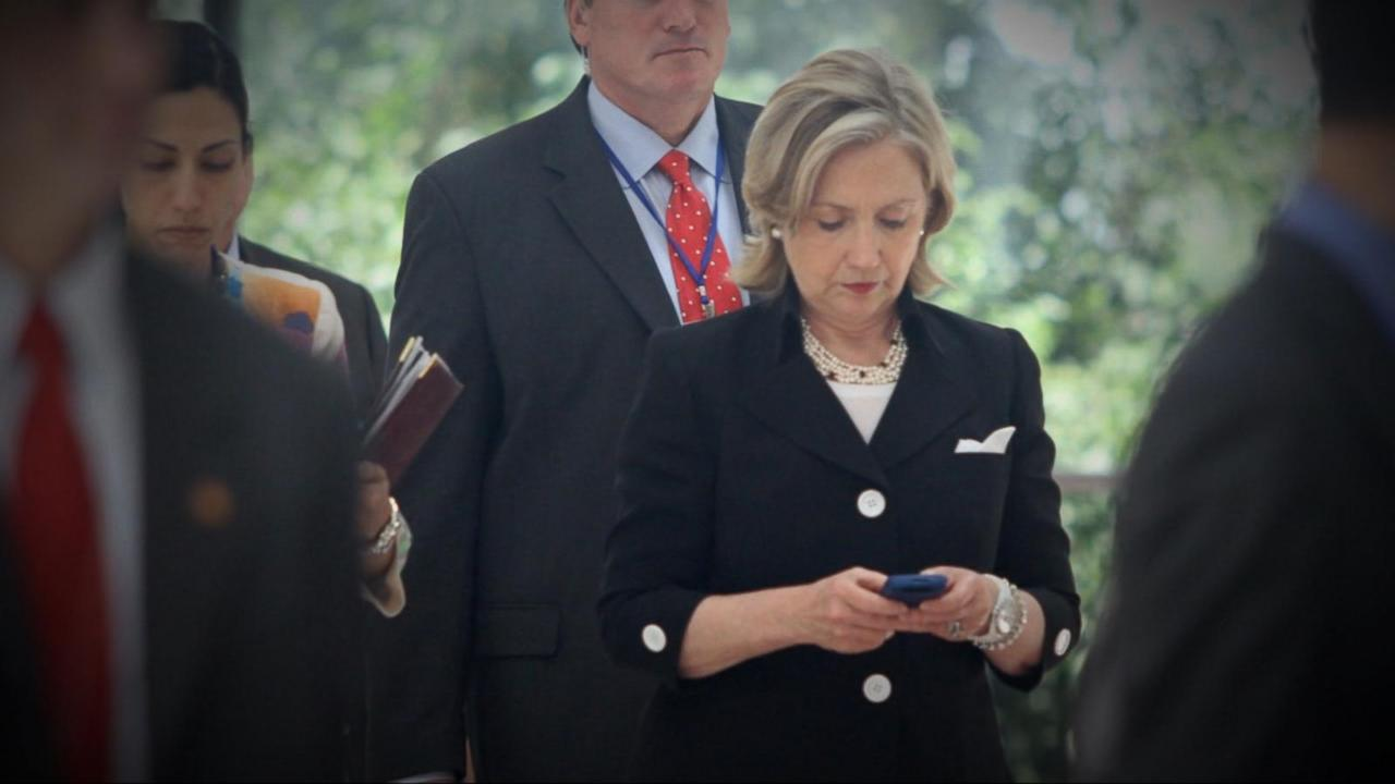 Hillary Clinton Campaigns as the First of Her Emails Are Released