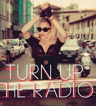 PHOTO: Madonna Reveals Artwork For 'Turn Up The Music'