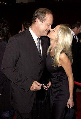 Kelsey Grammer and Camille Donatacci 53rd Annual Emmy Awards - 11/4/2001