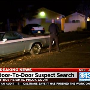 Police Searching For Fleeing Suspect In Citrus Heights
