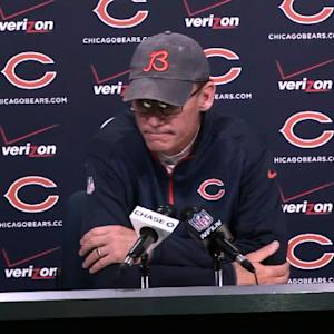 Chicago Bears head coach Marc Trestman: 'It's just players expressing disappointment'
