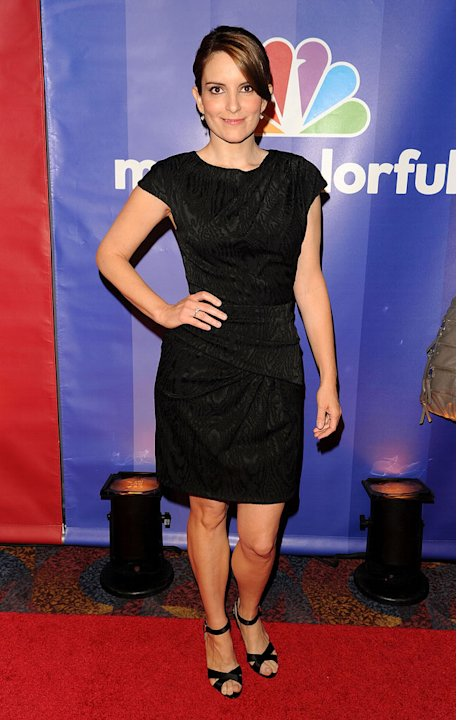 Tina Fey attends the 2010 NBC Upfront presentation at The Hilton Hotel on May 17, 2010 in New York City. 