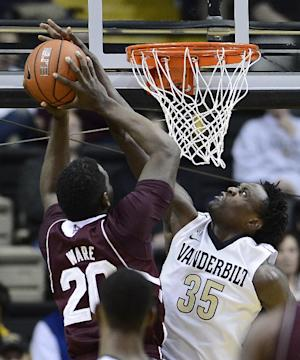 Odom scores 18, Vandy beats Mississippi St. 55-49