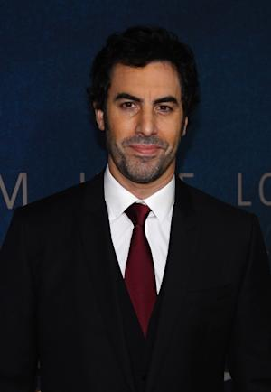 Sacha Baron Cohen attends the 'Les Miserables' New York premiere at Ziegfeld Theatre on December 10, 2012 -- Getty Images
