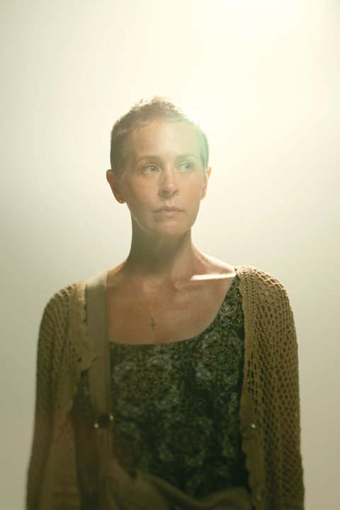"Melissa Suzanne McBride as Carol on ""The Walking Dead."""
