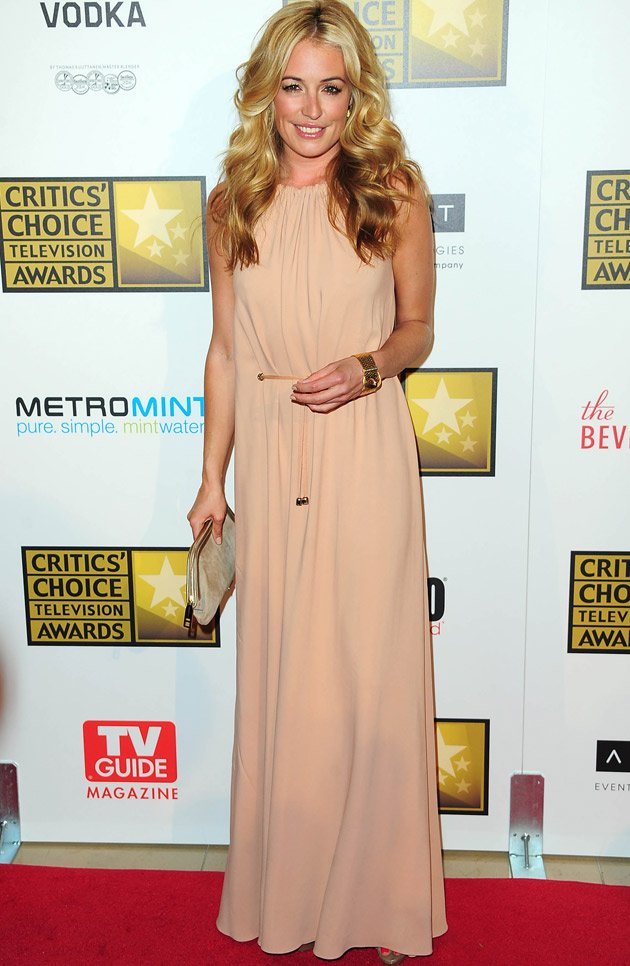Cat Deeley, Critics Choice, couple, Patrick Kielty