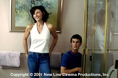 Mary Steenburgen and Ian Somerhalder in New Line's Life as a House