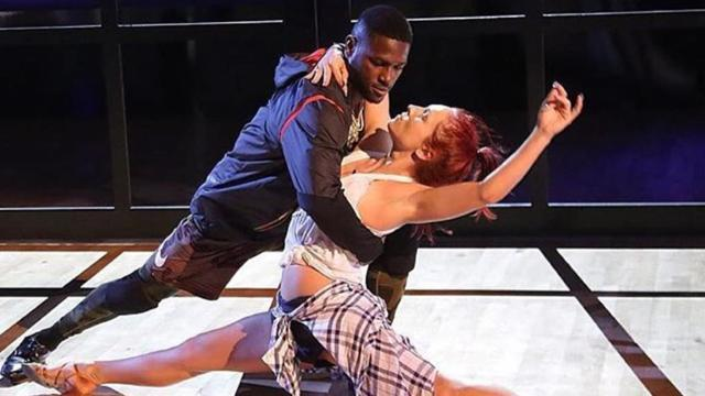 'DWTS' Pro Sharna Burgess Suffers Wardrobe Malfunction During Sexy Tango With Antonio Brown