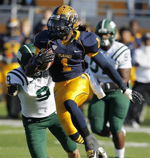 No. 23 Kent State finishes off Ohio 28-6