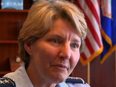 First Person: AF Academy's First Female Leader