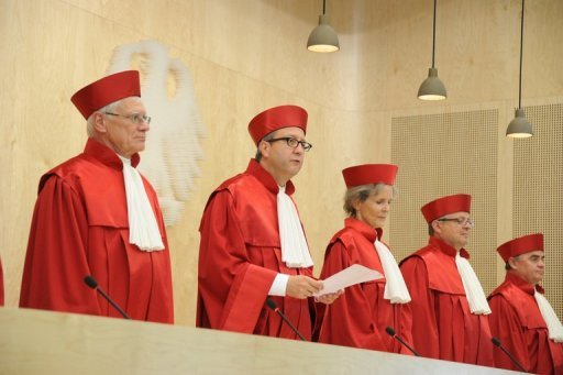 &lt;p&gt;Judges of Germany&#39;s Federal Constitutional Court deliver a verdict on electoral law reforms in Karlsruhe in July. The Court says a last-minute legal challenge by a leading eurosceptic politician will not delay its hotly awaited verdict on key euro crisis tools.&lt;/p&gt;
