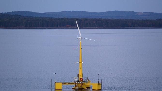 AP: Records show Maine gov. tried to jam wind plan