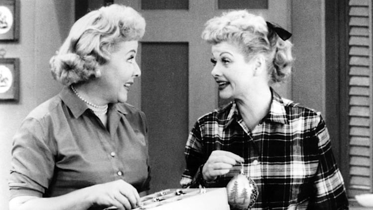 Lucy Ricardo and Ethel Mertz (I Love Lucy)