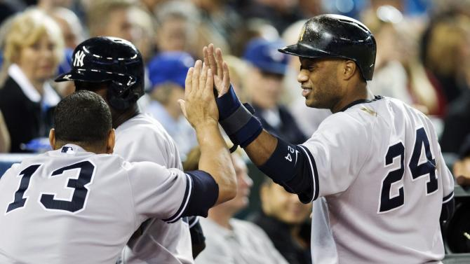 Yankees rally, beat Blue Jays 4-3