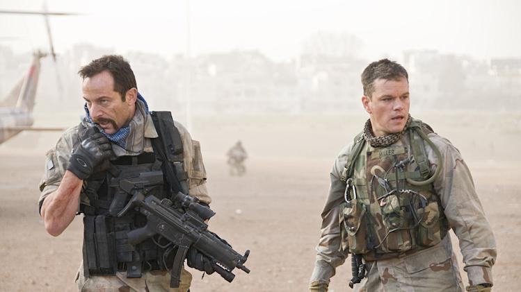 Green Zone Production Photos 2010 Universal Pictures Matt Damon Jason Isaacs